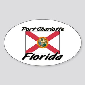 Port Charlotte Florida Oval Sticker