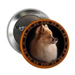 Pomeranian Button Small Dog Buttons & Dog Gifts