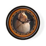 Pomeranian Dog Art Gifts Wall Clock