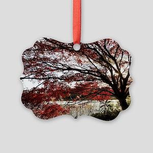 Autum tree Picture Ornament