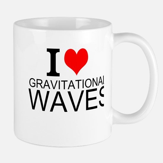 I Love Gravitational Waves Mugs