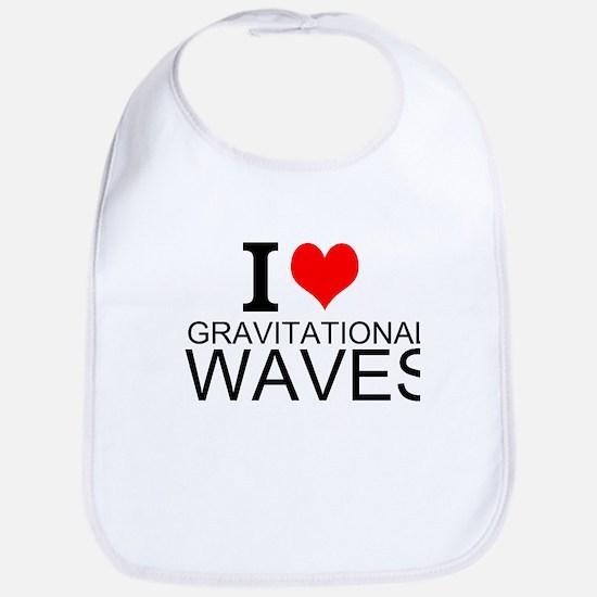 I Love Gravitational Waves Bib
