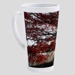 Autum tree 17 oz Latte Mug