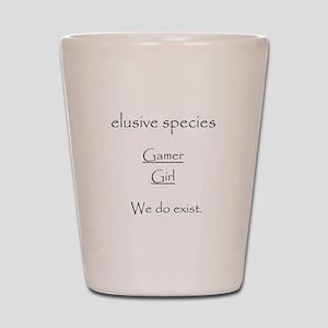 Elusive Species Shot Glass