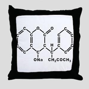 WARFARIN Throw Pillow