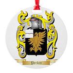 Perkin Round Ornament