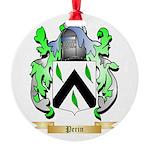 Perin Round Ornament