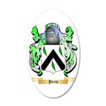 Perin 35x21 Oval Wall Decal