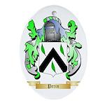 Perin Oval Ornament