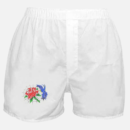 Old School Colour Tattoo Boxer Shorts