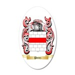 Perez 35x21 Oval Wall Decal