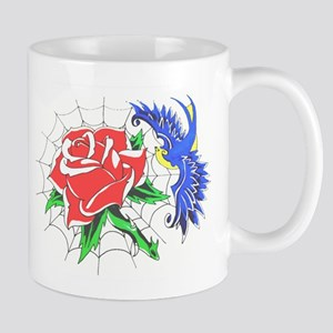 Old School Colour Tattoo Mugs
