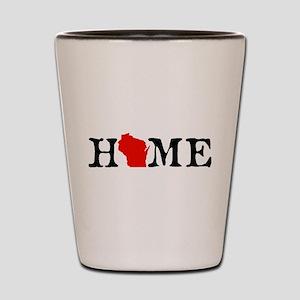 HOME - WI Shot Glass