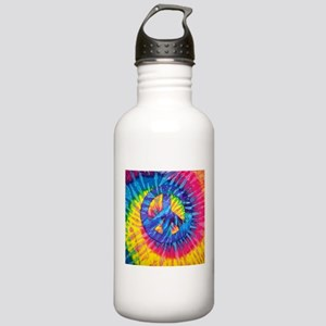 Peace Sign Hippie Hipp Stainless Water Bottle 1.0L