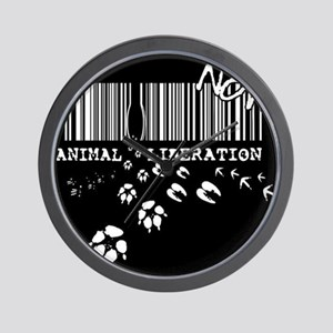 Animal Liberation Now - Until Every Cag Wall Clock