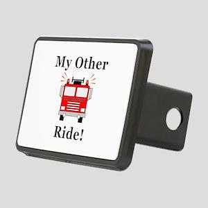 Fire Truck Ride Rectangular Hitch Cover