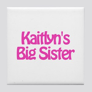 Kaitlyn's Big Sister Tile Coaster