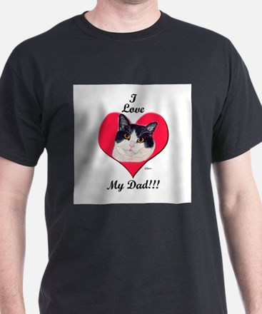 Unique Dad valentine T-Shirt