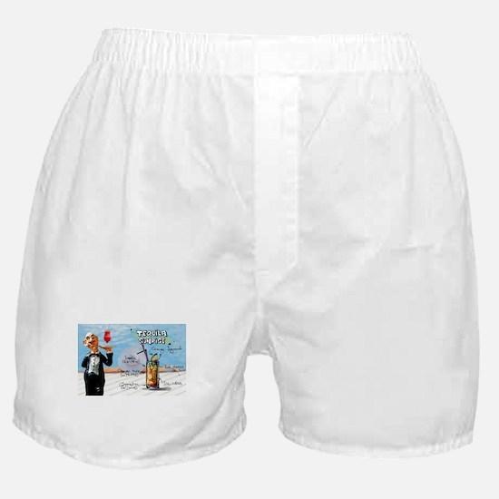 Funny Red sunrise Boxer Shorts