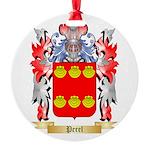 Perel Round Ornament