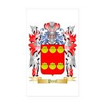 Perel Sticker (Rectangle 50 pk)