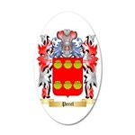 Perel 35x21 Oval Wall Decal