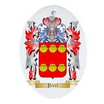 Perel Oval Ornament