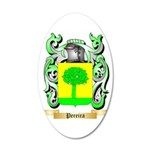 Pereira 35x21 Oval Wall Decal