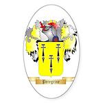 Peregrine Sticker (Oval)