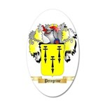 Peregrine 35x21 Oval Wall Decal