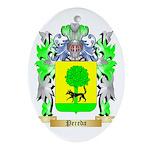 Pereda Oval Ornament