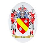 Pere Oval Ornament