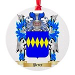 Percy Round Ornament