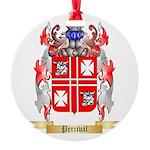 Percival Round Ornament