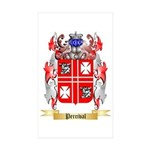 Percival Sticker (Rectangle 50 pk)