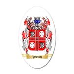 Percival 35x21 Oval Wall Decal