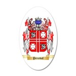 Perceval 20x12 Oval Wall Decal
