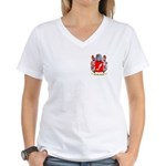 Perazzo Women's V-Neck T-Shirt