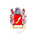 Perazzo Oval Car Magnet