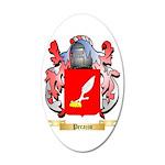 Perazzo 35x21 Oval Wall Decal