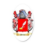 Peraza Oval Car Magnet