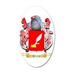 Peraza 35x21 Oval Wall Decal