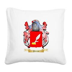 Peraza Square Canvas Pillow