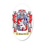 Pepperill Oval Car Magnet