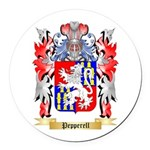 Pepperell Round Car Magnet