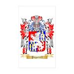 Pepperell Sticker (Rectangle 10 pk)