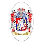 Pepperell Sticker (Oval 50 pk)