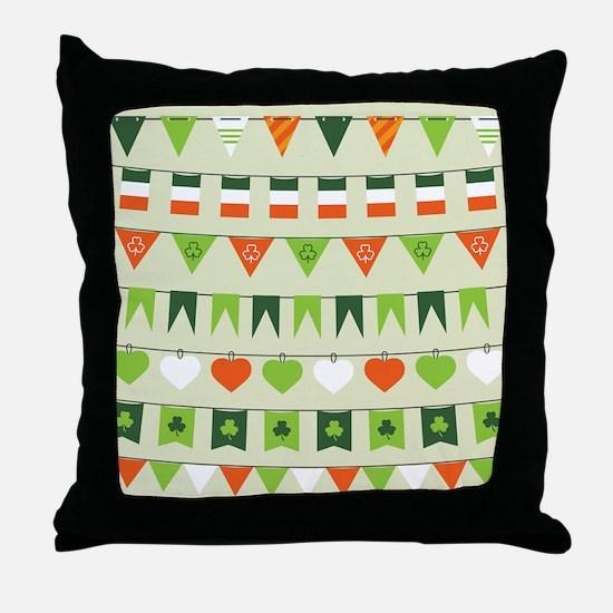 Unique St patricks Throw Pillow