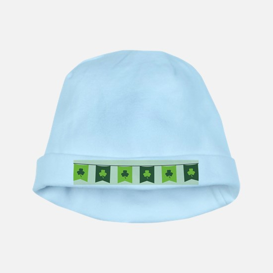 st patricks day flag baby hat