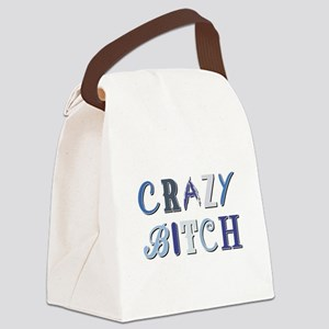 CRAZY BITCH Canvas Lunch Bag